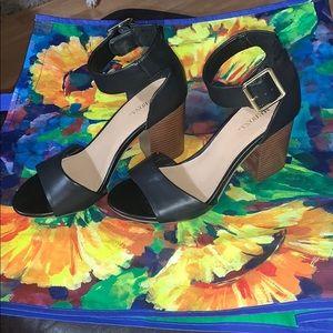 Merona chunky heels